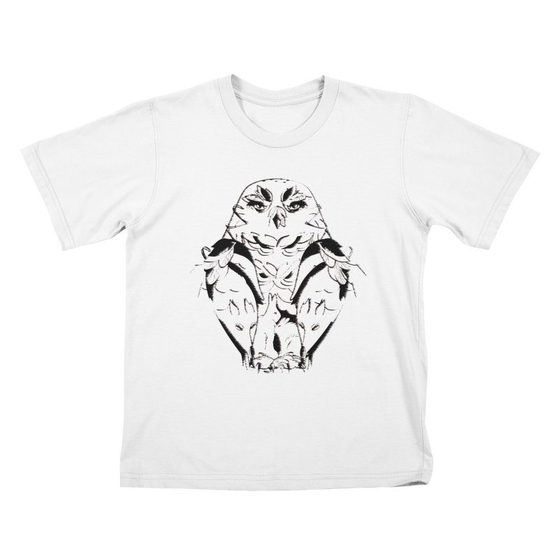 polar animal Kids T-shirt by masslos's Artist Shop