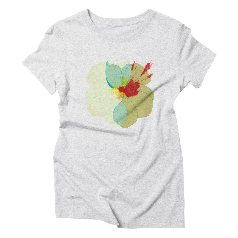 pollen Women's Triblend T-Shirt by masslos's Artist Shop