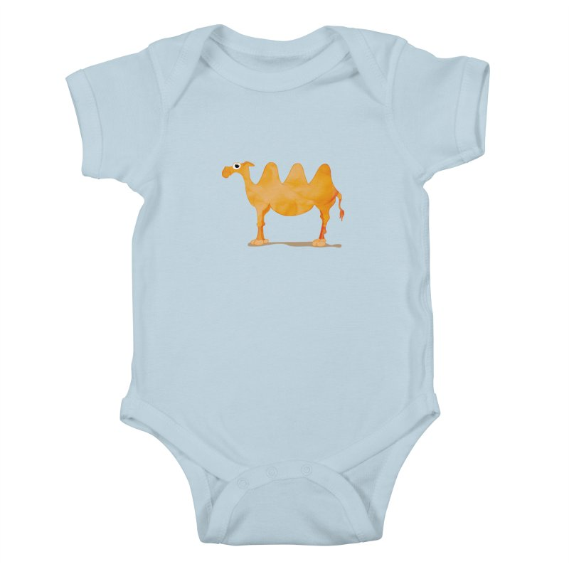 thirsty Kids Baby Bodysuit by masslos's Artist Shop