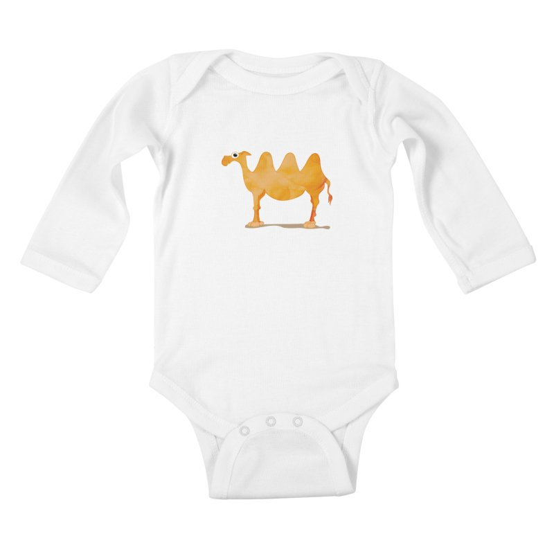 thirsty Kids Baby Longsleeve Bodysuit by masslos's Artist Shop