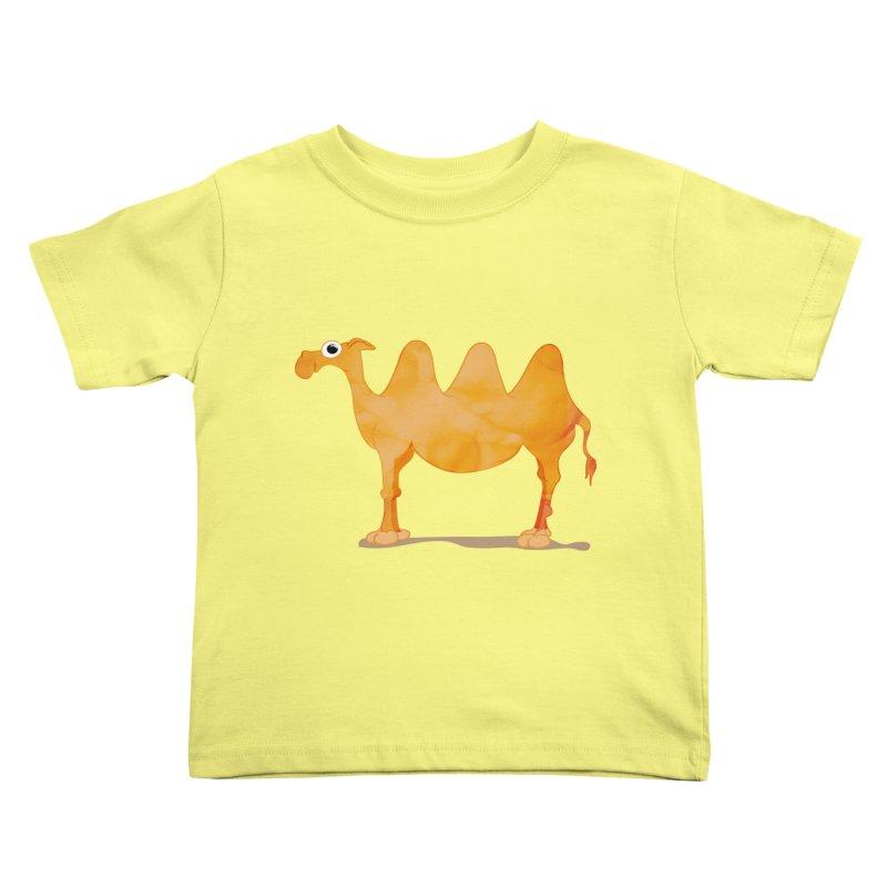 thirsty Kids Toddler T-Shirt by masslos's Artist Shop