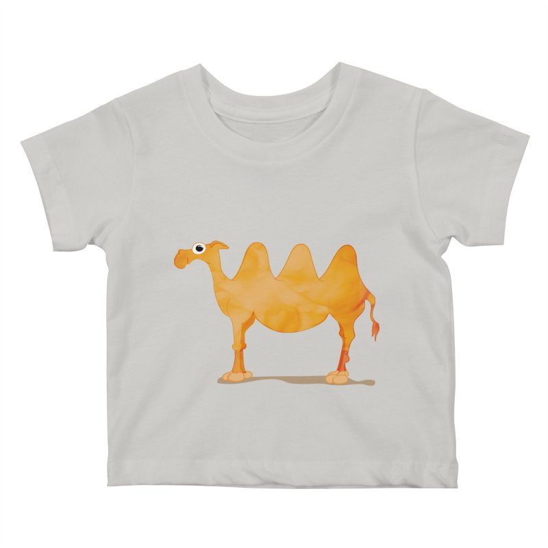thirsty Kids Baby T-Shirt by masslos's Artist Shop