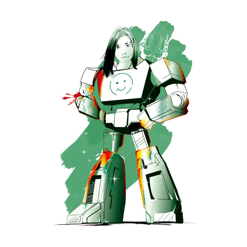 transformer girl by masslos's Artist Shop
