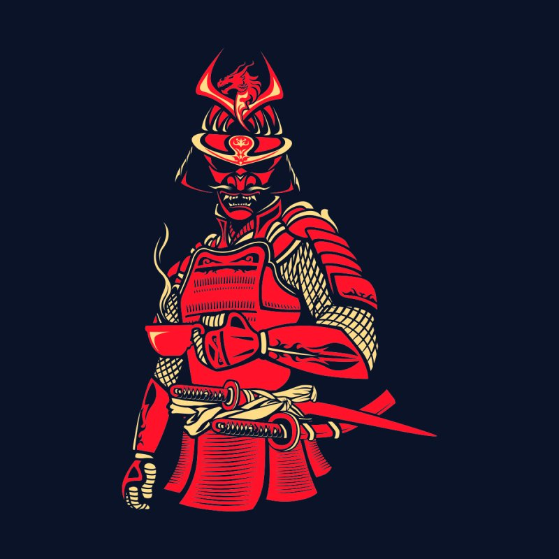 Samurai Cafe by Master Garrido