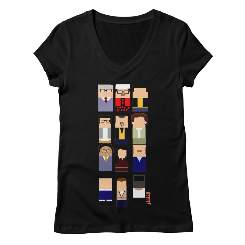 El nazer Women's V-Neck by mastudio's Artist Shop