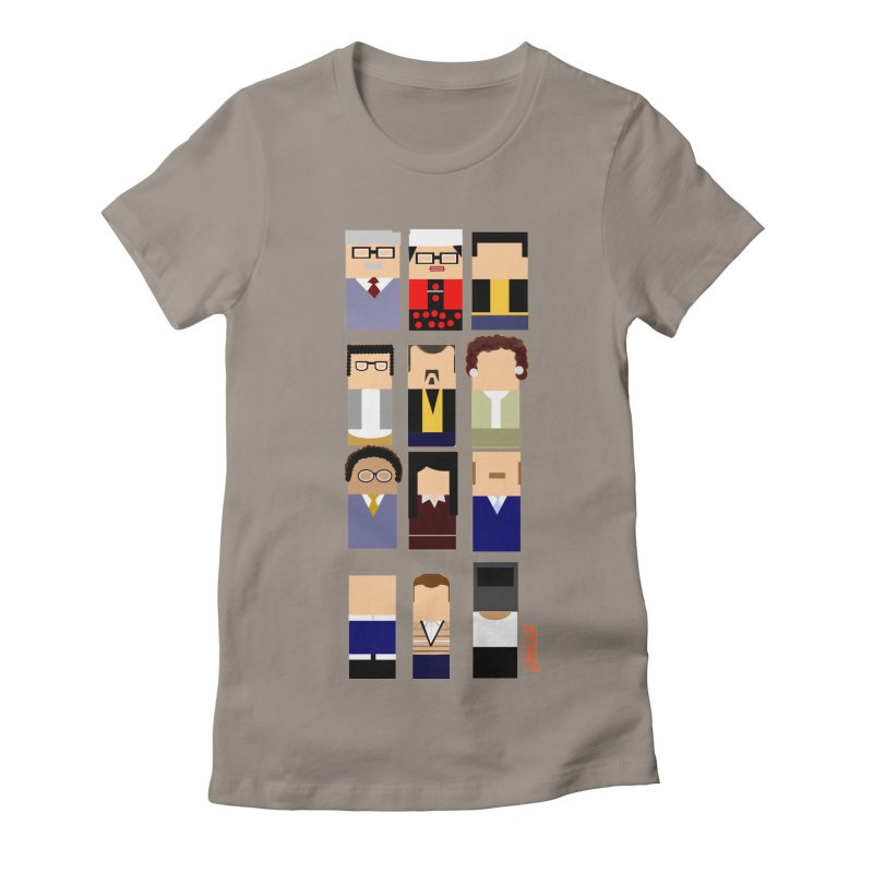 El nazer Women's Fitted T-Shirt by mastudio's Artist Shop