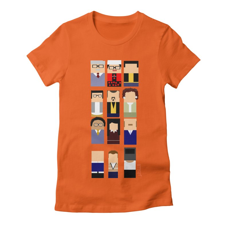 El nazer Women's Fitted T-Shirt by mastudio's Artist Shop