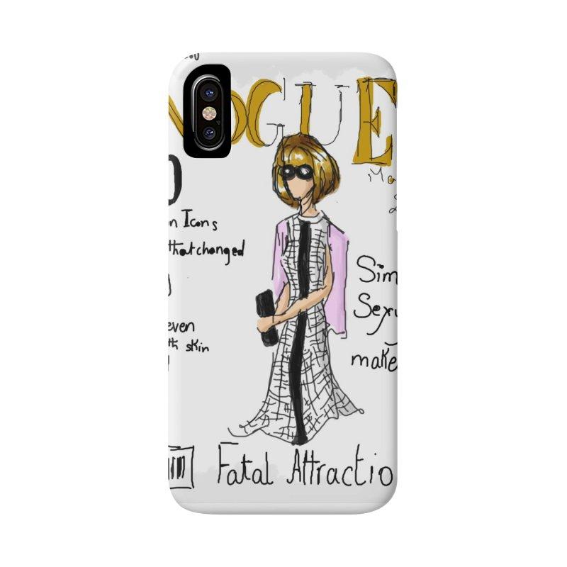 anna wintour vogue cover Accessories Phone Case by mastudio's Artist Shop