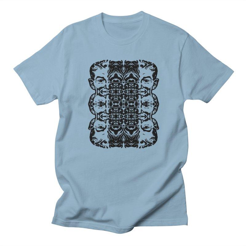 Split Men's T-Shirt by ART.MONSTERS.PRINTMAKING.