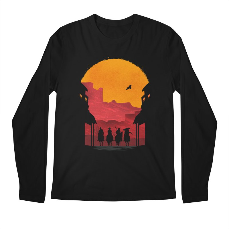 Riders Men's Longsleeve T-Shirt by mateusquandt's Artist Shop
