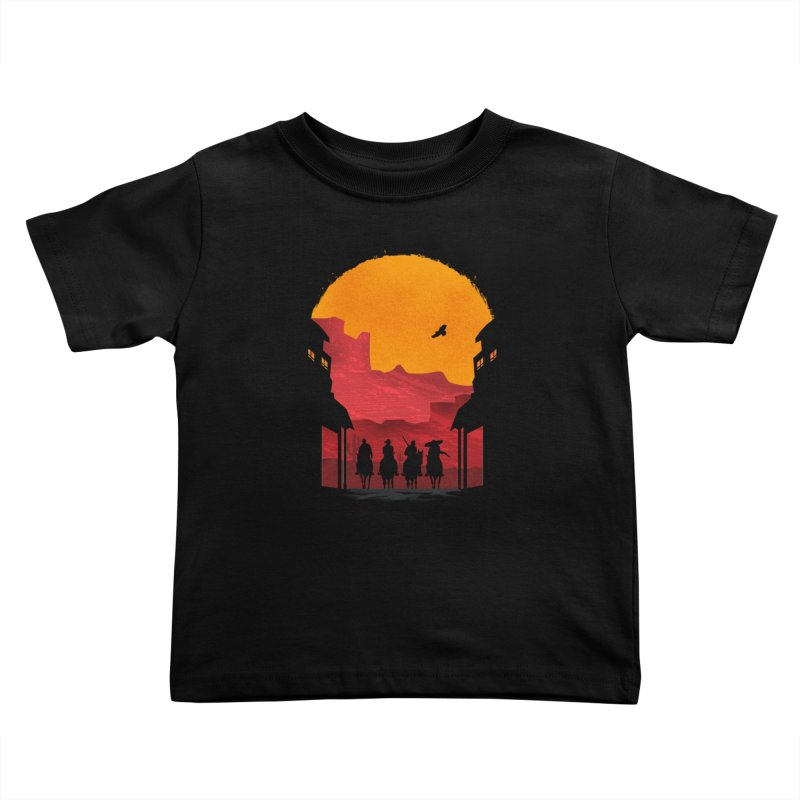 Riders Kids Toddler T-Shirt by mateusquandt's Artist Shop
