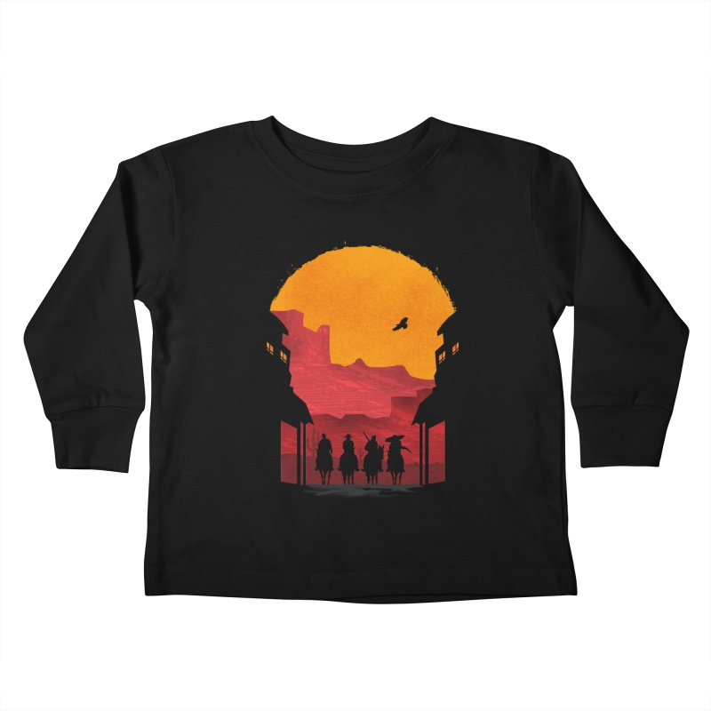 Riders Kids Toddler Longsleeve T-Shirt by mateusquandt's Artist Shop