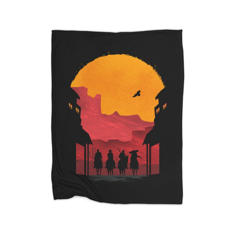 Riders Home Blanket by mateusquandt's Artist Shop