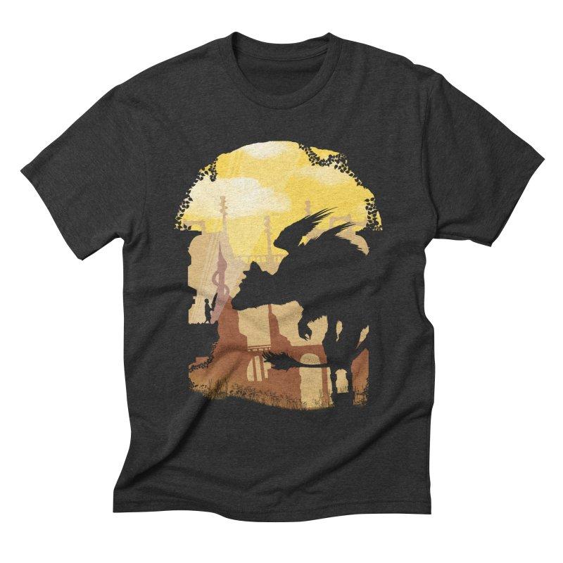 The Guardian Men's Triblend T-shirt by mateusquandt's Artist Shop