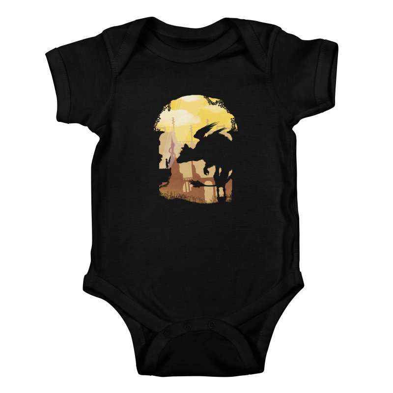 The Guardian Kids Baby Bodysuit by mateusquandt's Artist Shop