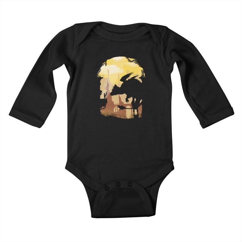 The Guardian Kids Baby Longsleeve Bodysuit by mateusquandt's Artist Shop