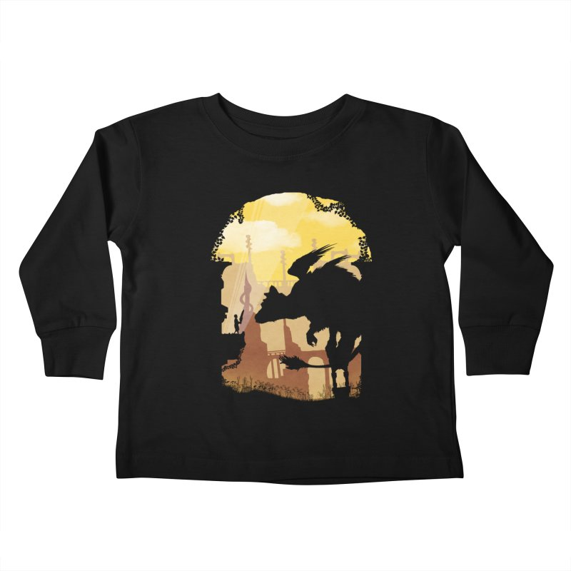 The Guardian Kids Toddler Longsleeve T-Shirt by mateusquandt's Artist Shop
