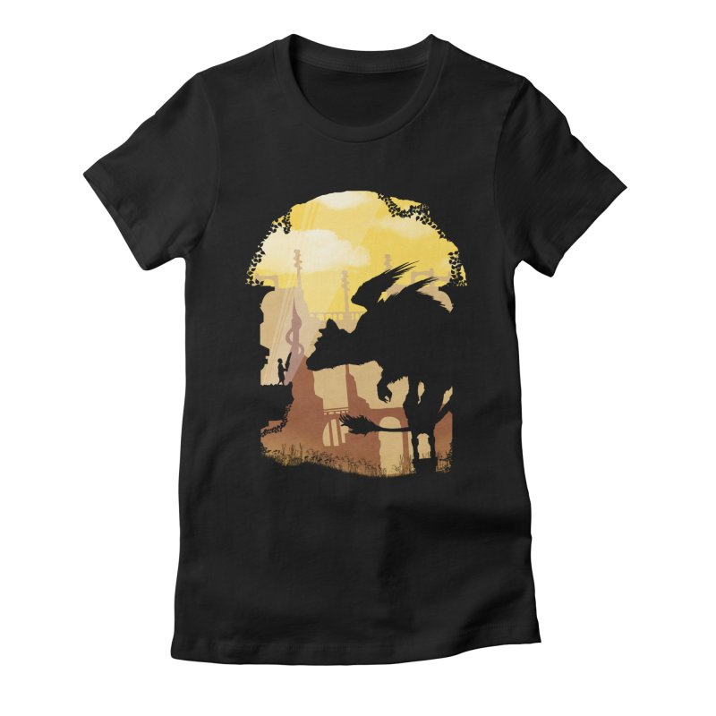 The Guardian Women's Fitted T-Shirt by mateusquandt's Artist Shop