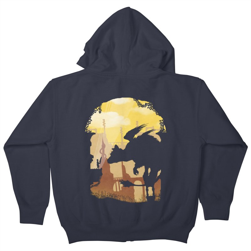 The Guardian Kids Zip-Up Hoody by mateusquandt's Artist Shop