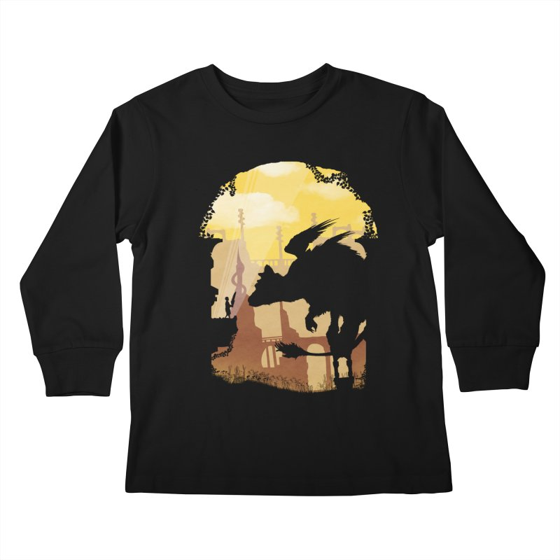 The Guardian Kids Longsleeve T-Shirt by mateusquandt's Artist Shop