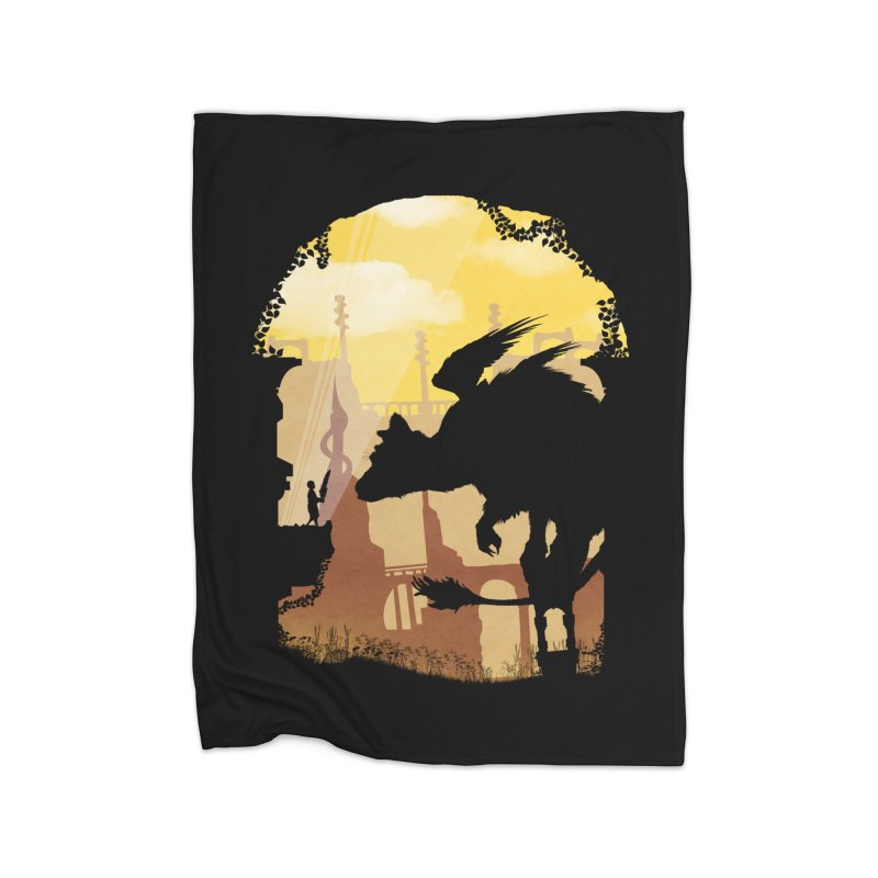 The Guardian Home Blanket by mateusquandt's Artist Shop