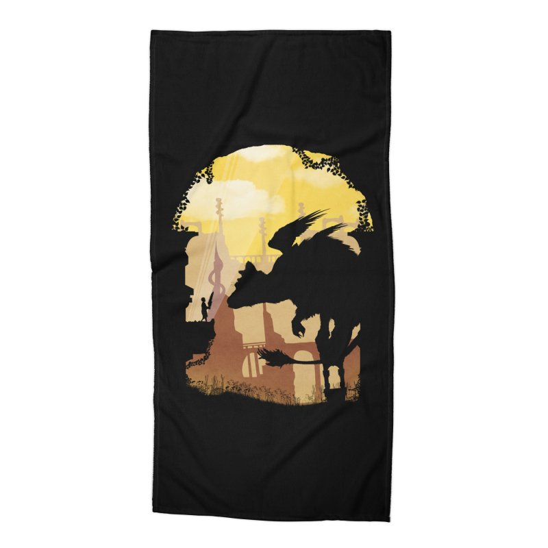 The Guardian Accessories Beach Towel by mateusquandt's Artist Shop