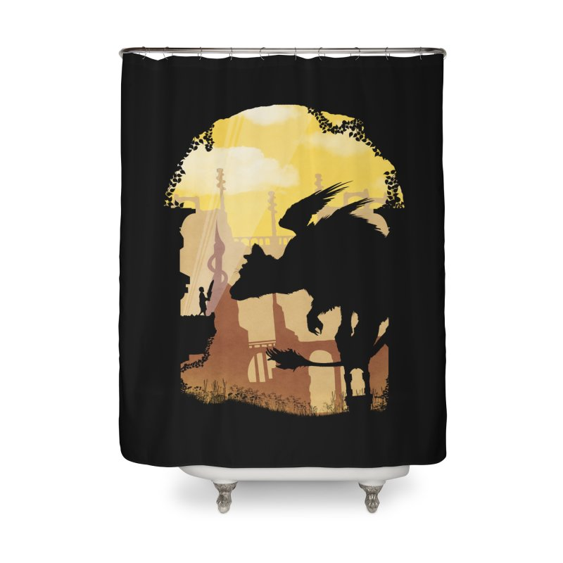 The Guardian Home Shower Curtain by mateusquandt's Artist Shop