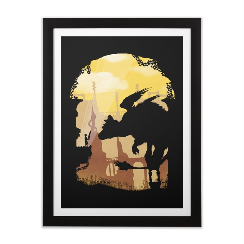 The Guardian Home Framed Fine Art Print by mateusquandt's Artist Shop