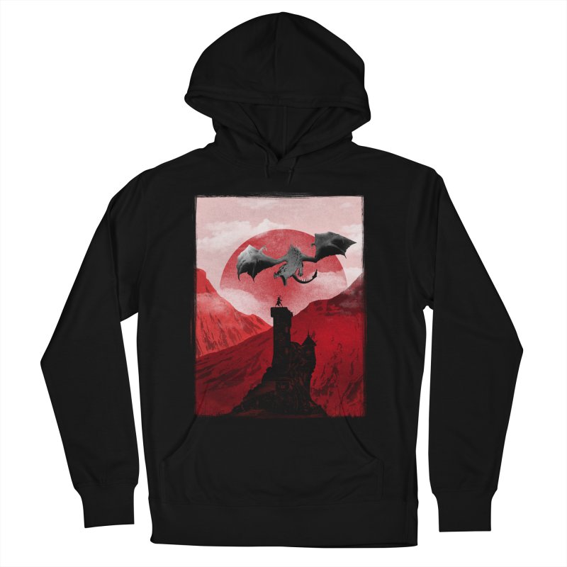 Guardian of the Tower Women's Pullover Hoody by mateusquandt's Artist Shop