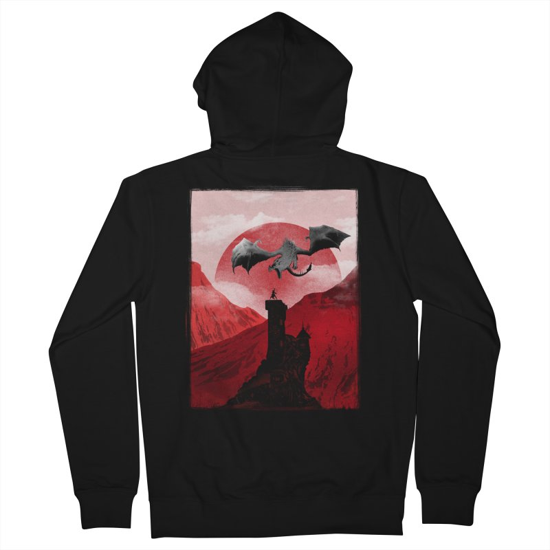 Guardian of the Tower Men's Zip-Up Hoody by mateusquandt's Artist Shop