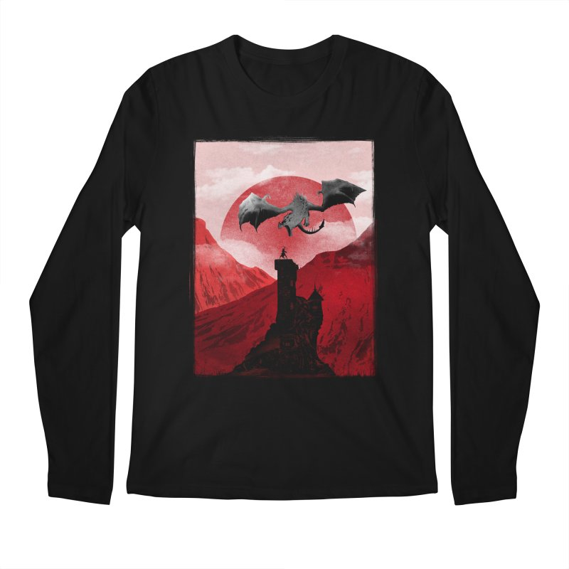Guardian of the Tower Men's Longsleeve T-Shirt by mateusquandt's Artist Shop
