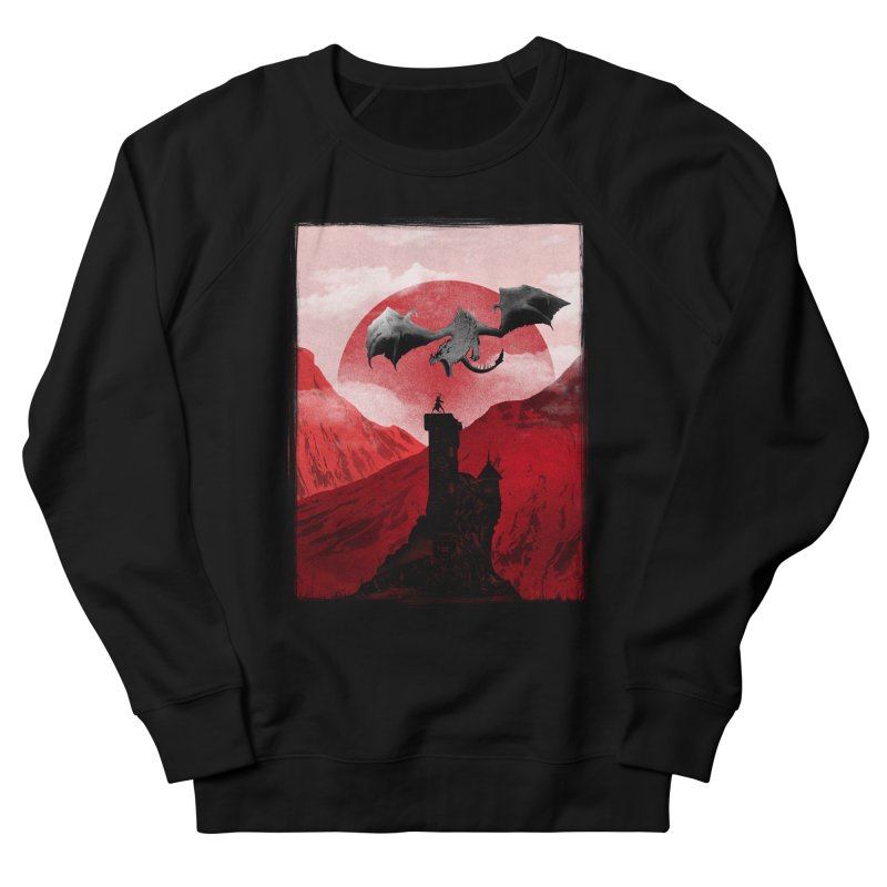 Guardian of the Tower Women's Sweatshirt by mateusquandt's Artist Shop