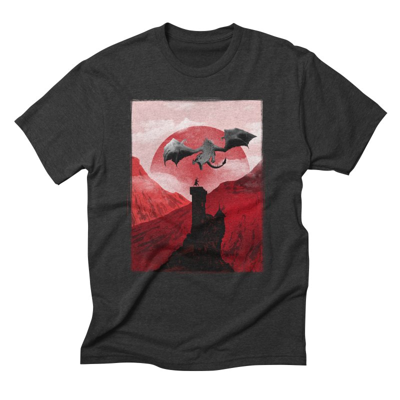 Guardian of the Tower Men's Triblend T-Shirt by mateusquandt's Artist Shop
