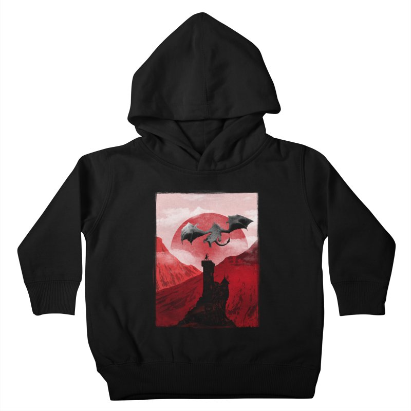 Guardian of the Tower Kids Toddler Pullover Hoody by mateusquandt's Artist Shop