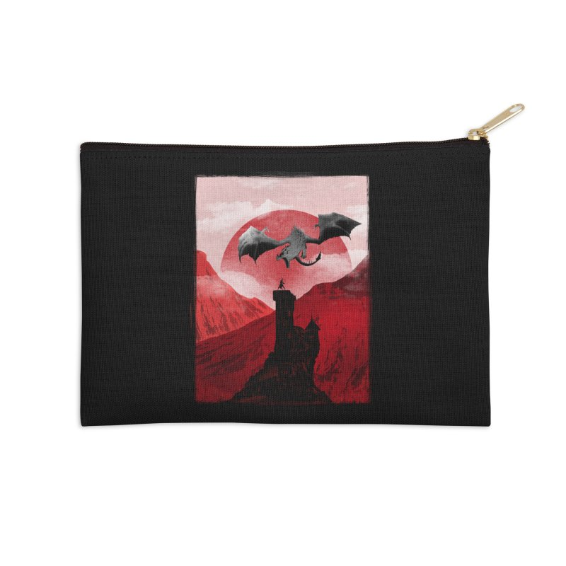 Guardian of the Tower Accessories Zip Pouch by mateusquandt's Artist Shop