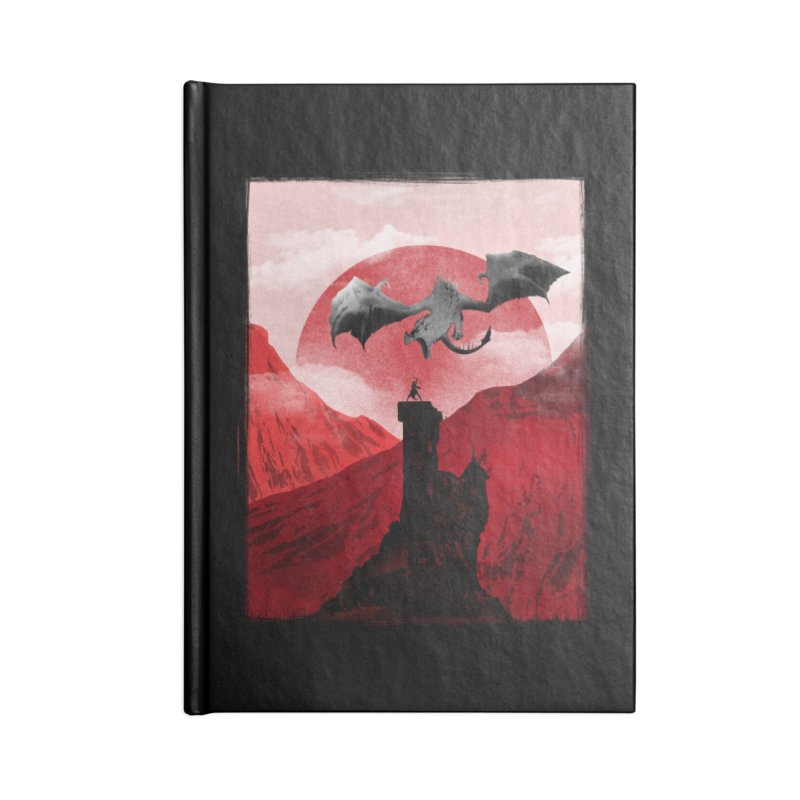 Guardian of the Tower Accessories Notebook by mateusquandt's Artist Shop