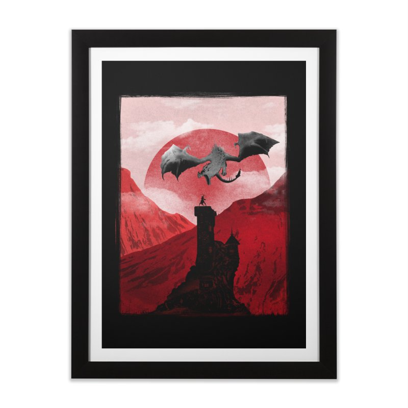 Guardian of the Tower Home Framed Fine Art Print by mateusquandt's Artist Shop