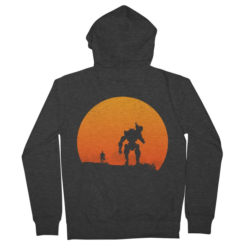 Pilot and Titan Men's Zip-Up Hoody by mateusquandt's Artist Shop