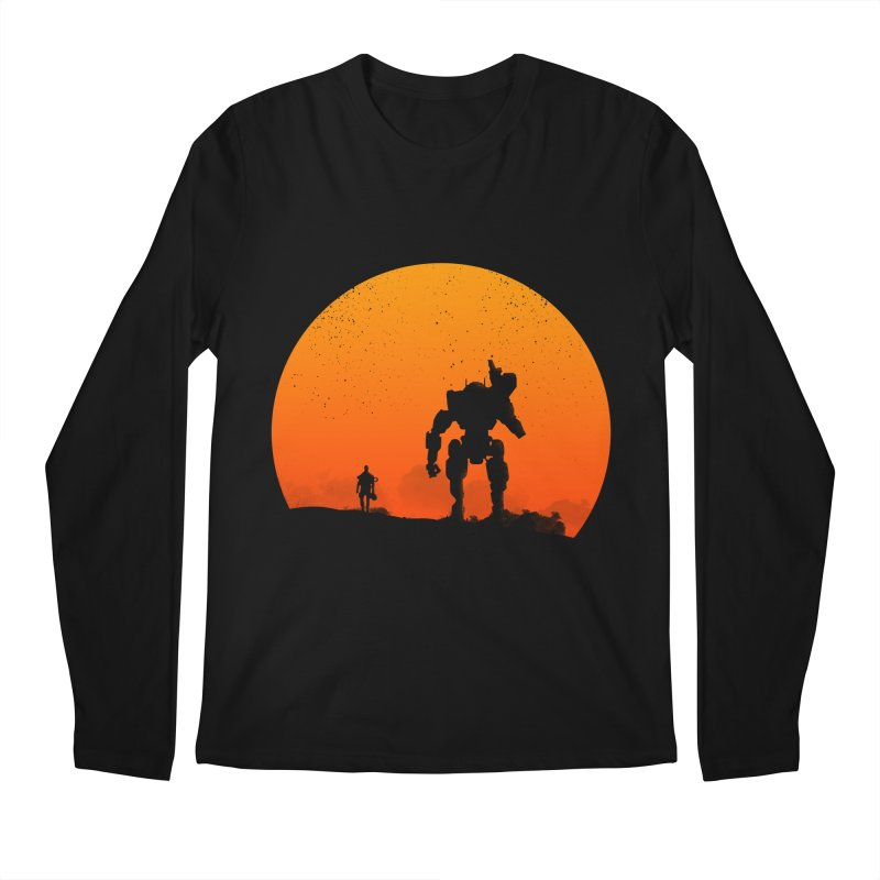 Pilot and Titan Men's Longsleeve T-Shirt by mateusquandt's Artist Shop