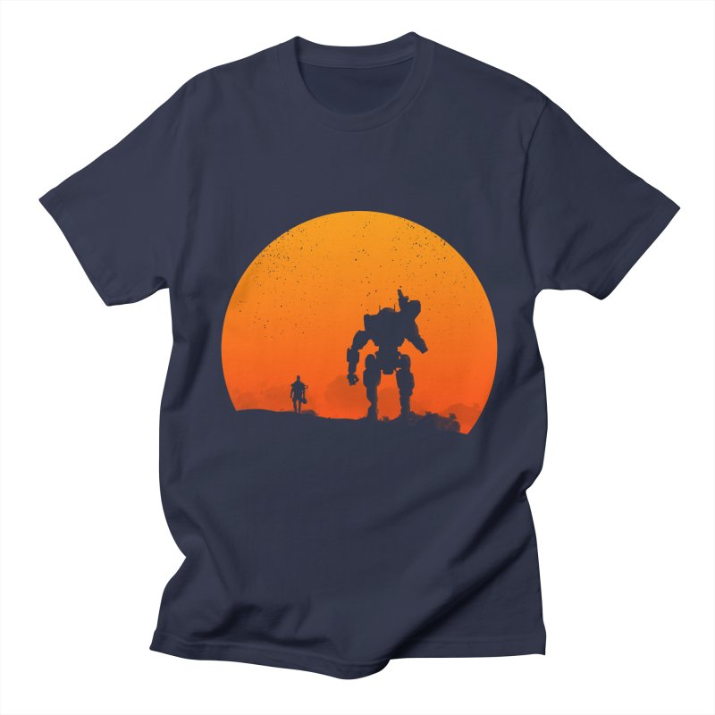 Pilot and Titan Women's Unisex T-Shirt by mateusquandt's Artist Shop