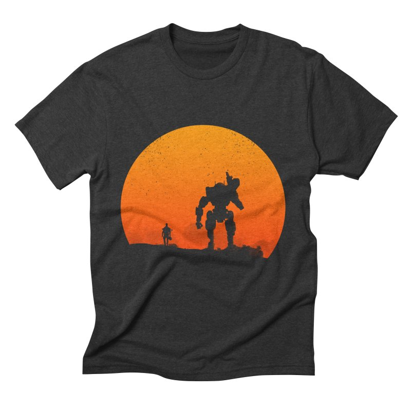 Pilot and Titan Men's Triblend T-Shirt by mateusquandt's Artist Shop