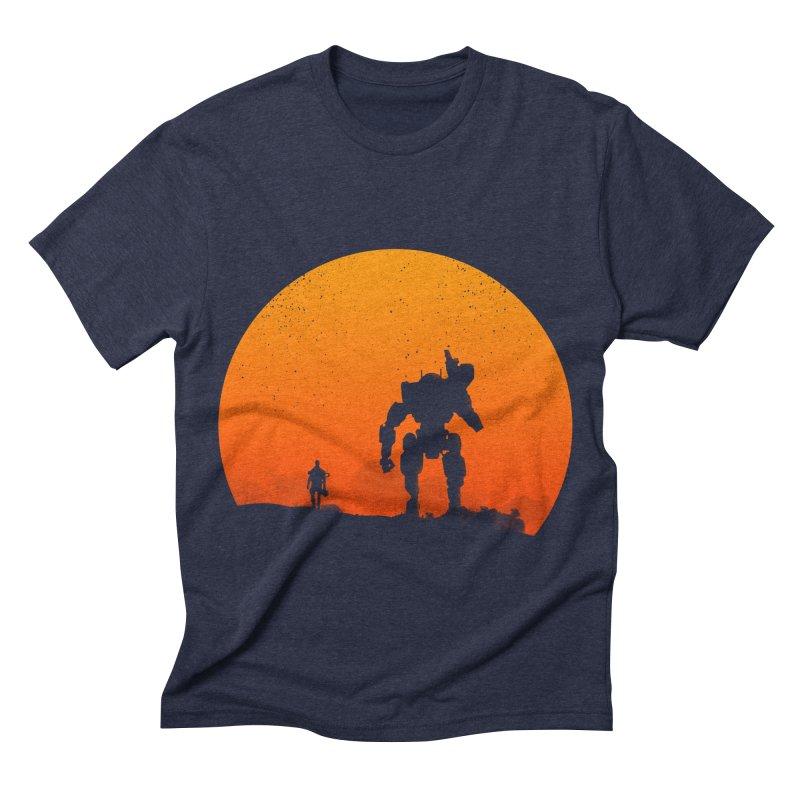 Pilot and Titan Men's Triblend T-shirt by mateusquandt's Artist Shop
