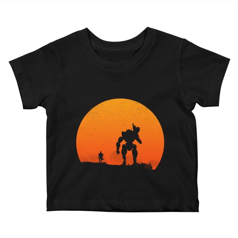 Pilot and Titan Kids Baby T-Shirt by mateusquandt's Artist Shop