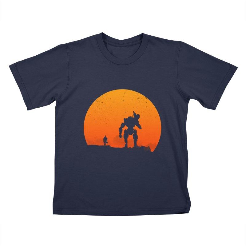 Pilot and Titan Kids T-shirt by mateusquandt's Artist Shop