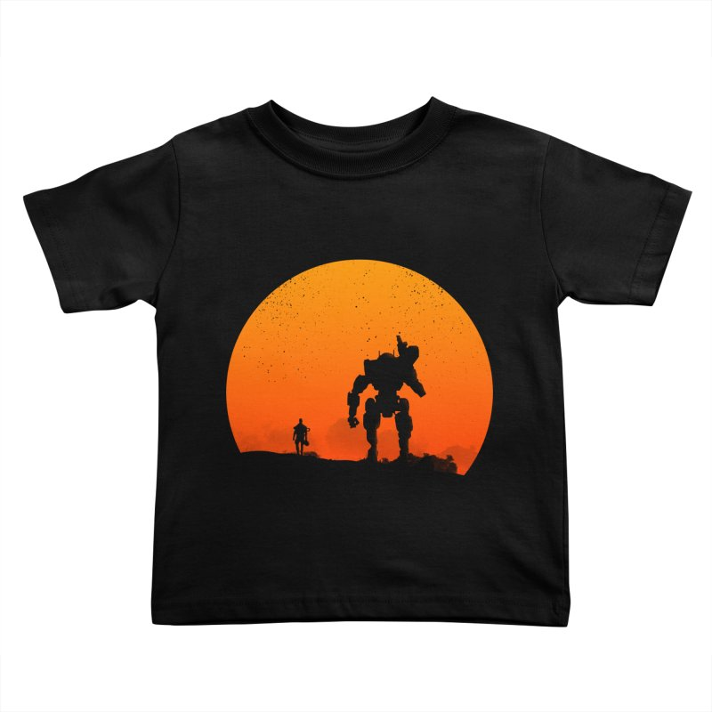 Pilot and Titan Kids Toddler T-Shirt by mateusquandt's Artist Shop