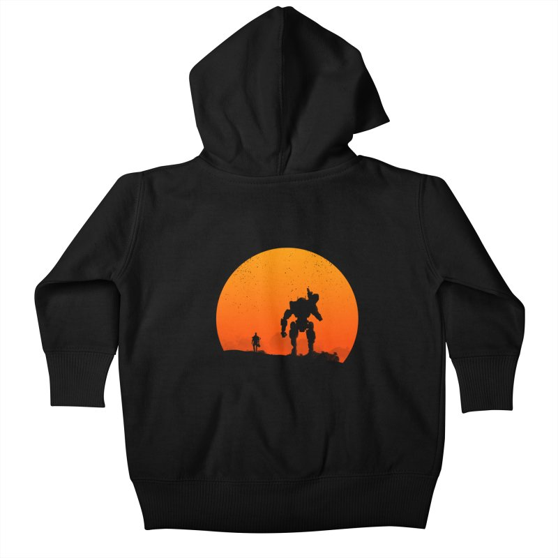 Pilot and Titan Kids Baby Zip-Up Hoody by mateusquandt's Artist Shop