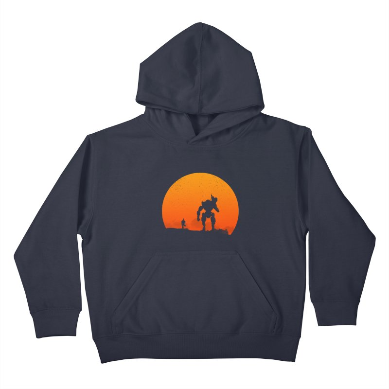 Pilot and Titan Kids Pullover Hoody by mateusquandt's Artist Shop