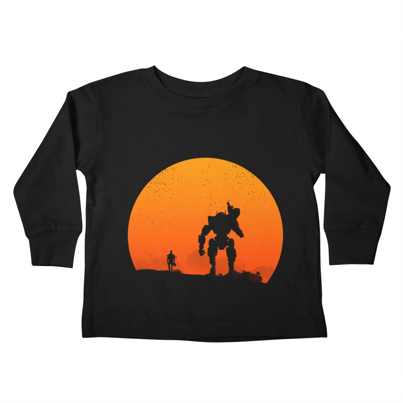 Pilot and Titan Kids Toddler Longsleeve T-Shirt by mateusquandt's Artist Shop