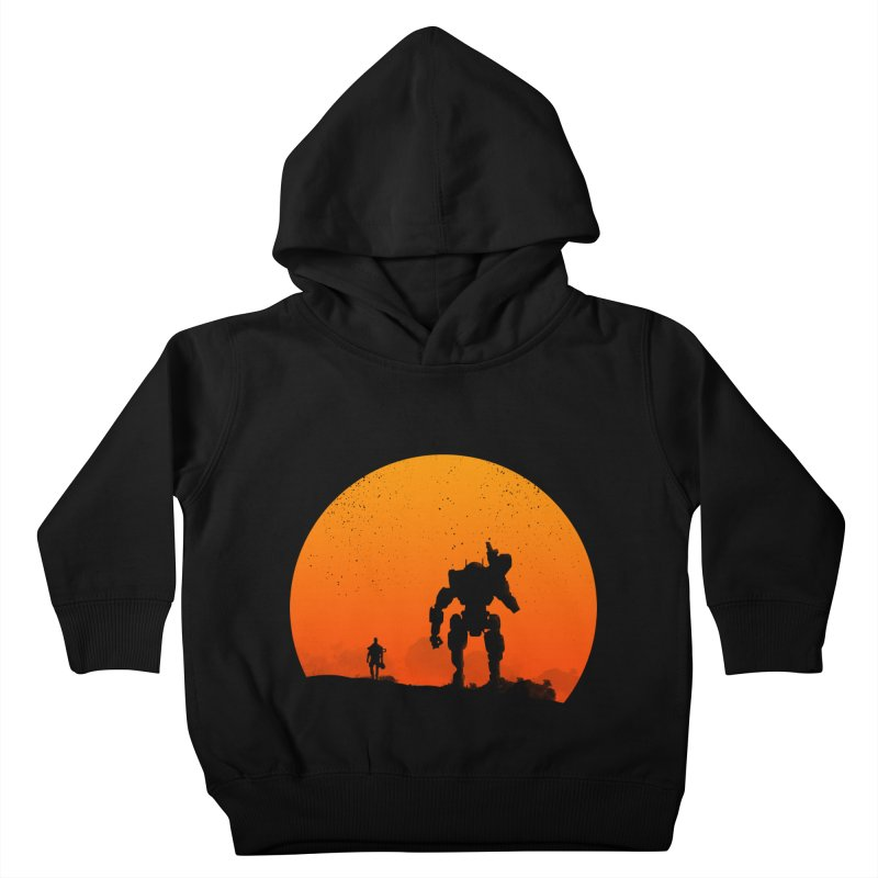 Pilot and Titan Kids Toddler Pullover Hoody by mateusquandt's Artist Shop