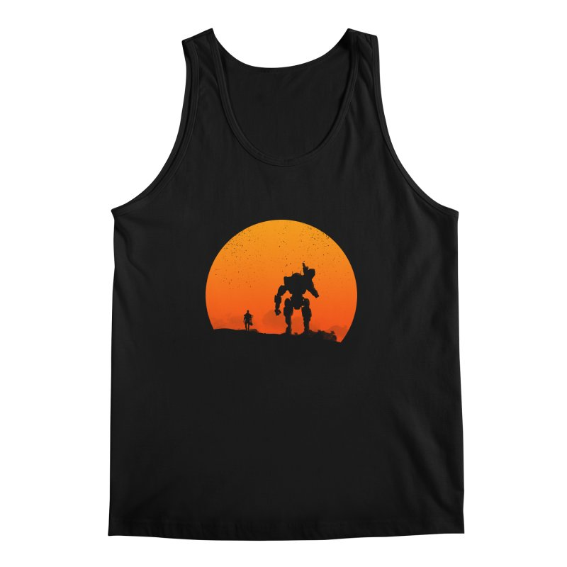 Pilot and Titan Men's Tank by mateusquandt's Artist Shop